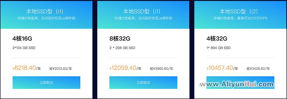 阿里云本地SSD型云服务器4核16G¥6218.40元/年-阿里云优惠券