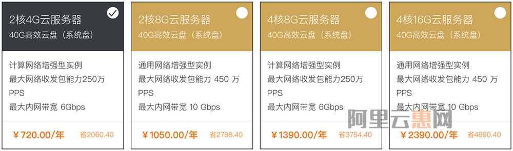 阿里云高性能服务器优惠2-5折网络增强/GPU/大数据型云服务器优惠-阿里云优惠券